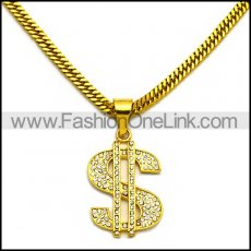 Stainless Steel Necklace n002975