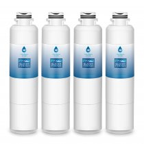DA29-00020B Refrigerator Water Filter Replacement for Samsung DA29-00020B, DA29-00020A, HAF-CIN/EXP, 46-9101, DA97-08006A, by Glacier Fresh, 4 Packs