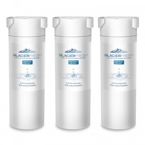 GLACIER FRESH XWF Replacement For GE XWF Refrigerator Water Filter 3-Pack