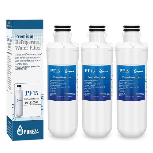 LT1000P Refrigerator Water Filter, Compatible with LT1000P, LT-1000PC, MDJ64844601, Kenmore 46-9980, 9980, ADQ74793501, ADQ74793502 3 PACK