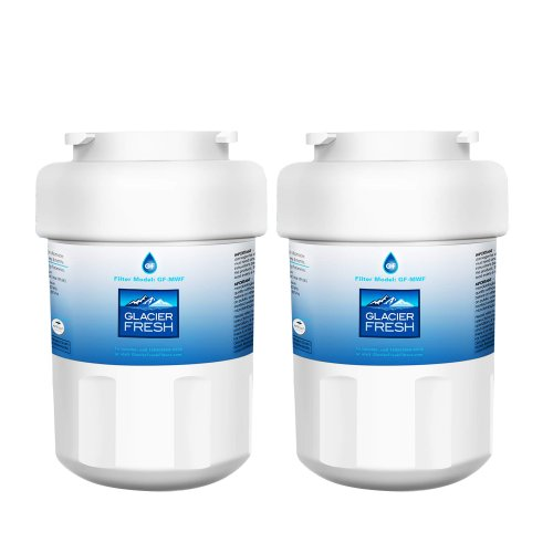 GE MWF Water Filter Cartridges NSF 42 Certified, Compatible with GE MWF SmartWater, MWFA, MWFP, GWF, GWFA, Kenmore 9991, 46-9991, HDX FMG-1, WFC1201 etc. (2 Packs)