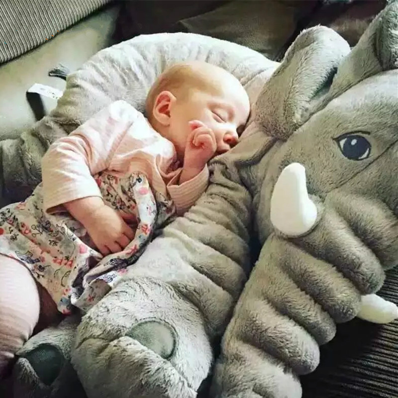 Soft Infant Lovely Baby Cotton Pillow Comfortable Helpful Cute Little Elephant