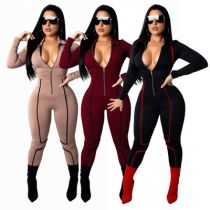 9073 Slim tight jumpsuit for women jumpsuit women clothing 2018