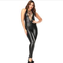 sexy vinyl catsuit 1087