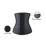 25 steel boned latex corset 919