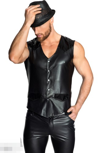 men leather clothing N938