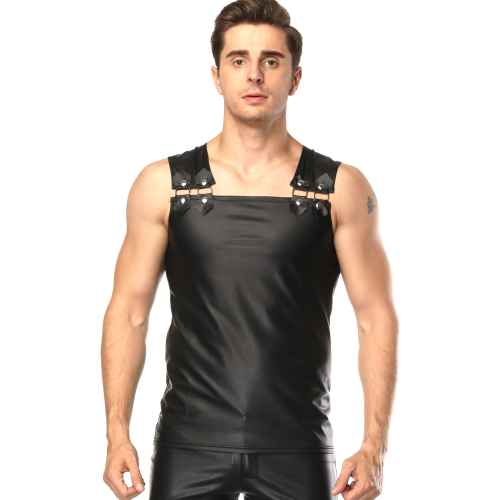 men leather clothing N943