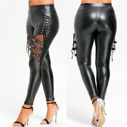 women leather pants 1109