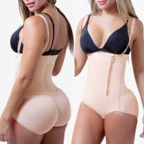 plus size latex butt lifter body shaper