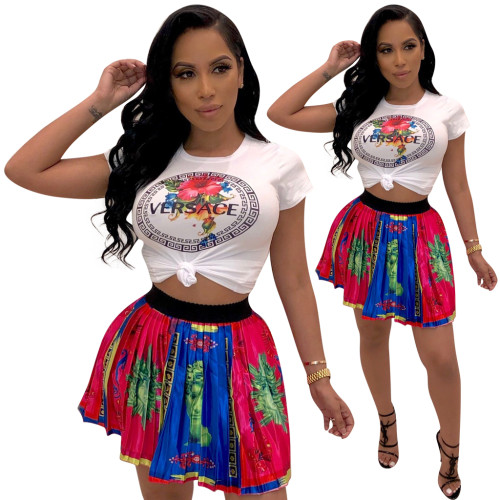 sexy T-shirt with skirt 3759