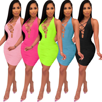 sexy women bandage dress 2415
