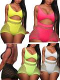 trendy women mesh swimwear T1208