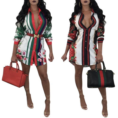 sexy fashion long blouse tops 8731