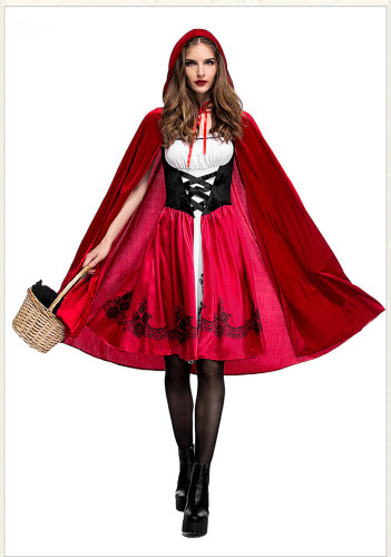 plus size little red riding hood costume PS9013