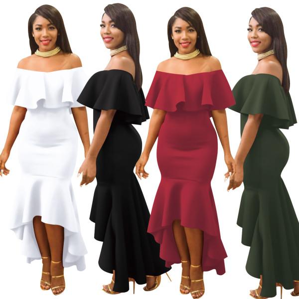fashion women long dress  2180