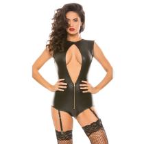 sexy leather vinyl lingerie F1111