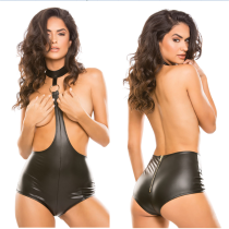 women leather lingerie F1112