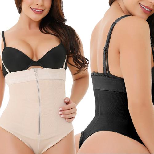 plus size  high waist  tummy control shapewear panties D067