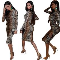 long sleeve women dress 2461b