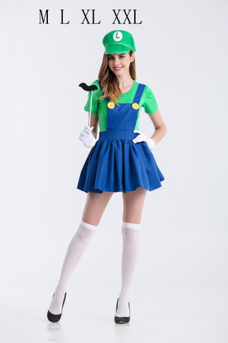 Cosplay Mario and luigi women costume PS1508
