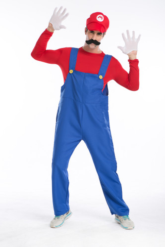 Cosplay Mario and luigi  men costume PS015