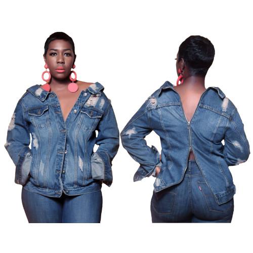 women jeans jacket  9426
