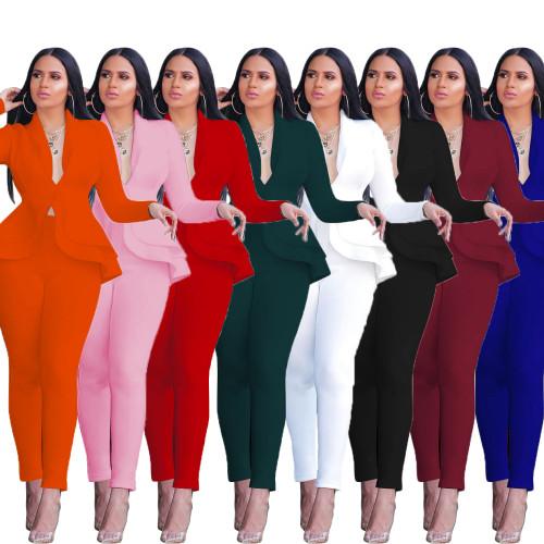 women two pieces suit CM610