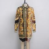 sexy blouse dress 9491