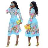 plus size spring dress 9550