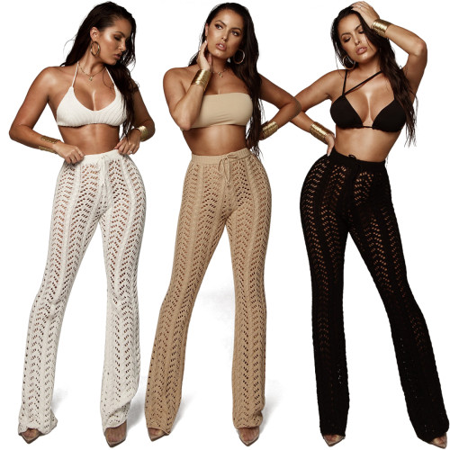 sexy knitted beach pants Z027