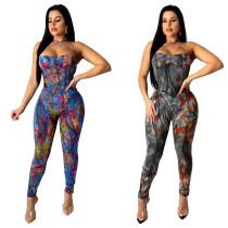 Sexy women jumpsuit Y090