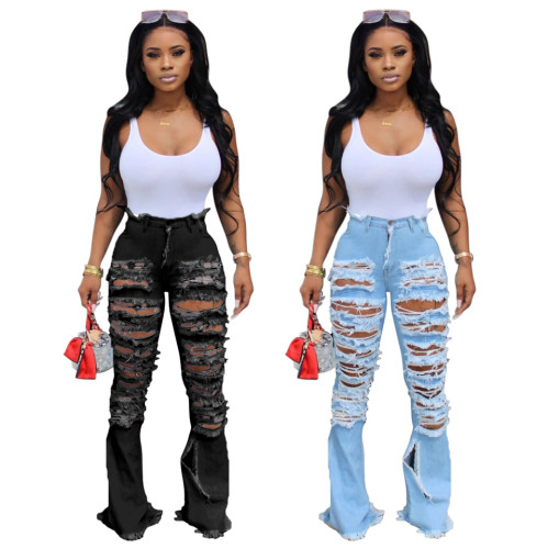 Sexy ripped jeans women 2254