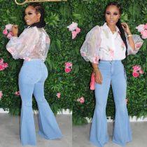 Flare bell bottom jeans  LD8790