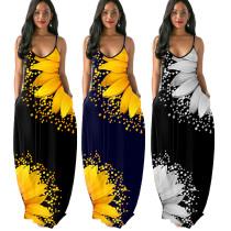 sexy women maxi dress 9673