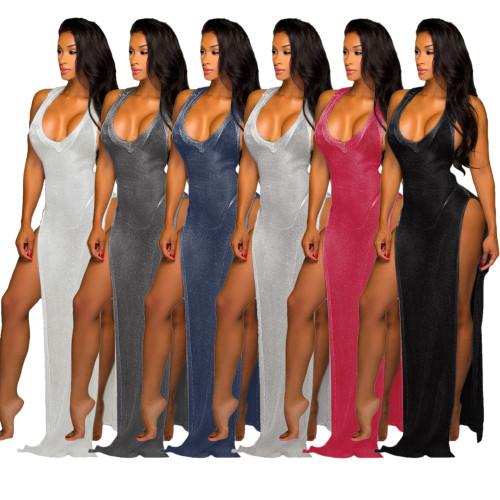 sexy women beach dress  9666