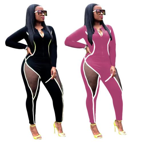 women fall sexy jumpsuit 6212