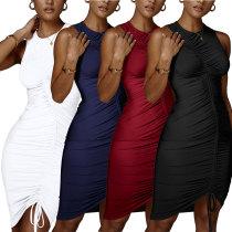 sexy women pure mini dress 2555