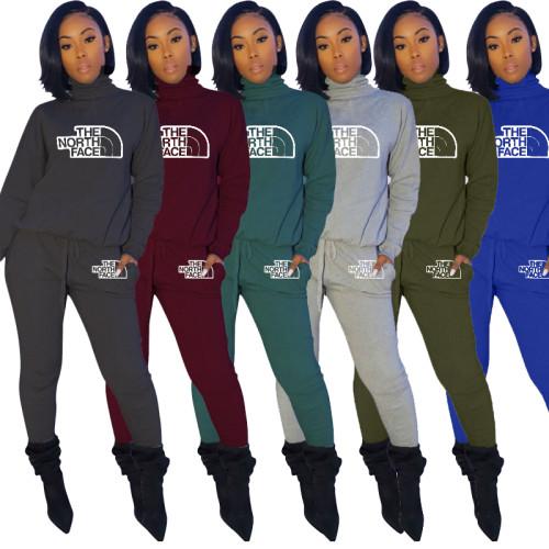 Ladies 2 pieces pants set Q1107