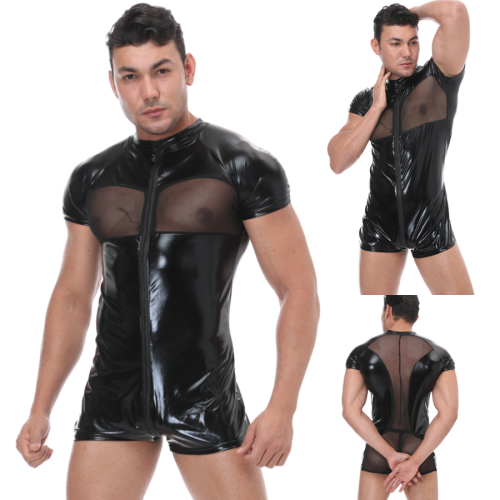 sexy man leather lingerie N986
