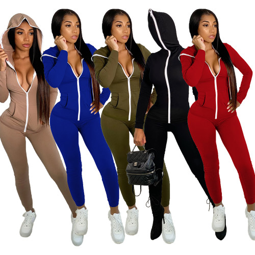womens 2 piece tracksuits YM152