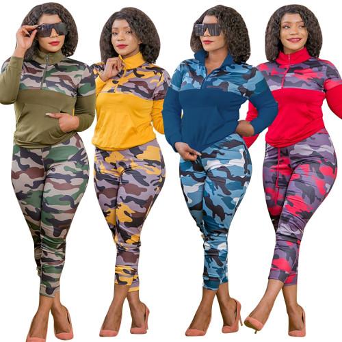 plus size two piece women clothing 20895