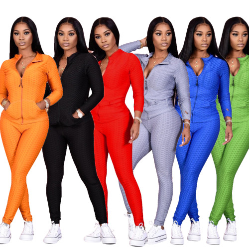 Sexy two pieces women tracksuit  CM799