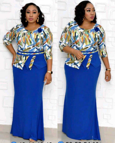 plus size women maxi dress 98126