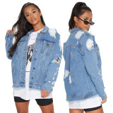 sexy fashion jeans jacket 9852