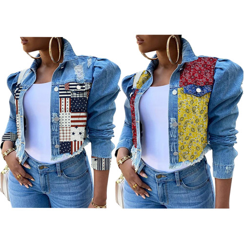 sexy fashion jeans jacket 9925