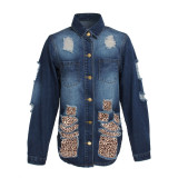 sexy fashion jeans jacket 9625
