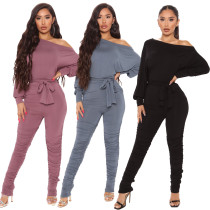 women stacked jumpsuit 9869