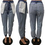 Women denim jeans Ld9069