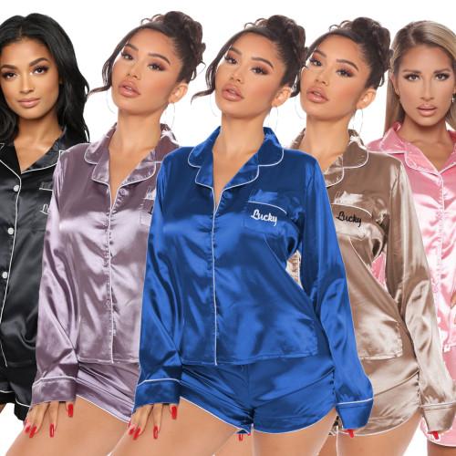 women two piece sleepwear Q757