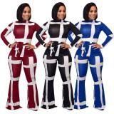 women two piece pant set  LD8646